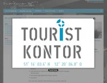 Gestaltung Touristkontor
