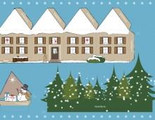 Weihnachtskarte SSZ 2010