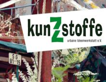 Faltblatt kunZstoffe e.V.