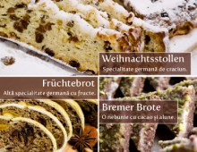 Bäckerei-Produktflyer